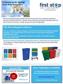 Spring Newsletter - offers, news, recycling