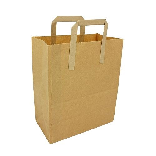 Brown Paper Carrier (M) 8x13x10 (304456)