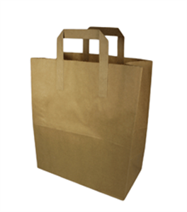 Brown Paper Carrier (M) (SOS) (1752)