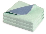 Dermacare Green, 85 x 90cm, Tuck-In Flaps Bed Pad