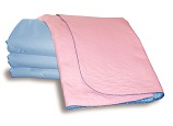 Sonoma Pink, 85 x 90cm, NON SLIP, Bed Pad (BAGGED)
