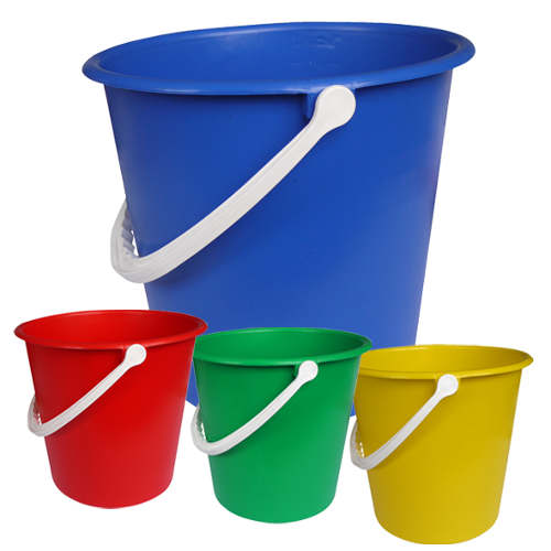 Plastic Bucket Red