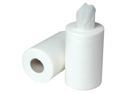 2ply Mini Centrefeed Roll White