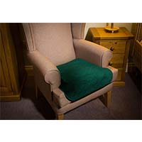 Velour Chair Protector Pad