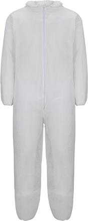 Arcon White Lightweight Coverall Disposable Large