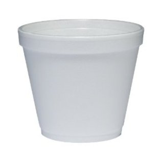 Dart 2J6 2oz Polystyrene Squat Container