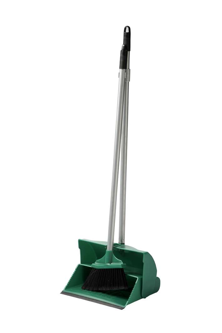 Dustpan & Brush Lobby Green