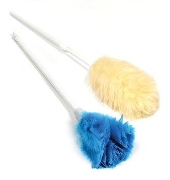 Lambswool Duster on Stick 22