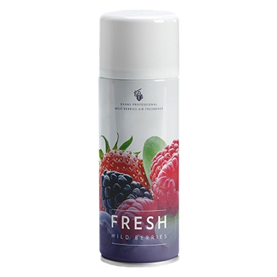 Evans Air & Fabric Freshner Wild Berry (12 x 400ml)