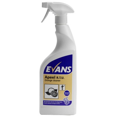 Evans Apeel Citrus Multipurpose Cleaner (6 x 750ml)