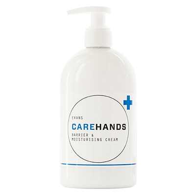 Evans Carehands Barrier Cream Pump (6 x 500ml)