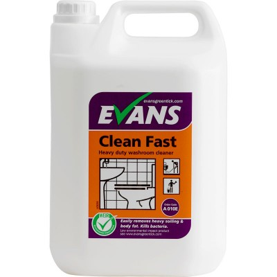 Evans Cleanfast Washroom Cleaner (5lt)