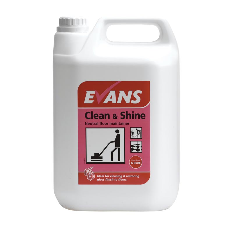 Evans Clean&Shine Floor Maintainer (5lt)