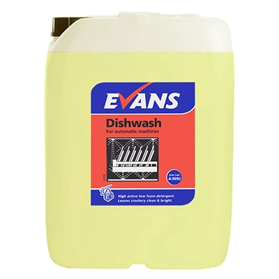 Evans Machine Dishwash Liquid (20lt)