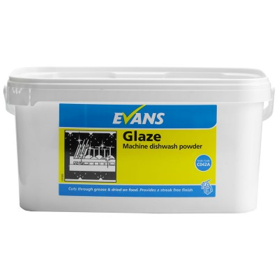 Evans Glaze Machine Dishwash Powder