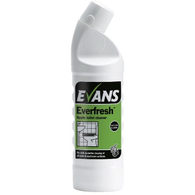 Evans Everfresh Daily Toilet Cleaner (6x1ltr)