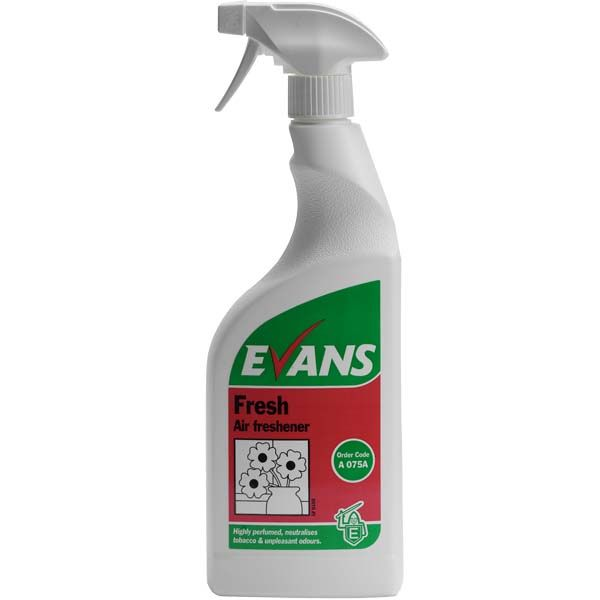 Evans Fresh Airfresh Liquid (750ml)