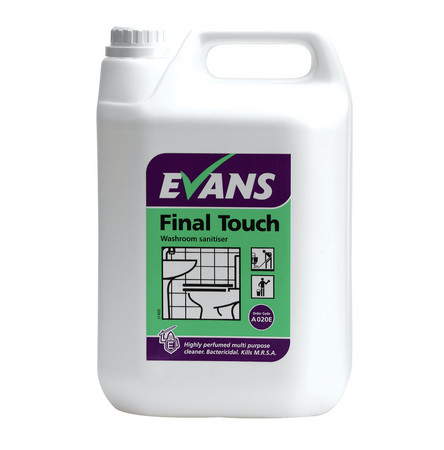 Evans Final Touch Washroom Cleaner (5lt)