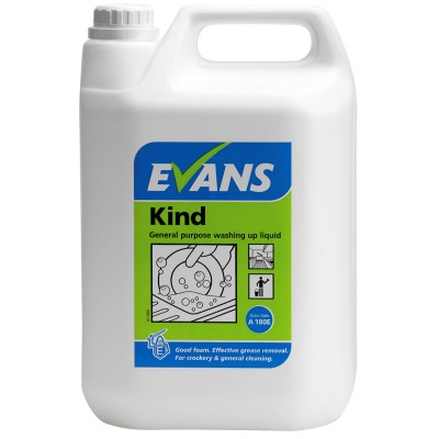 Evans Kind Washing Up Liquid (5ltr)