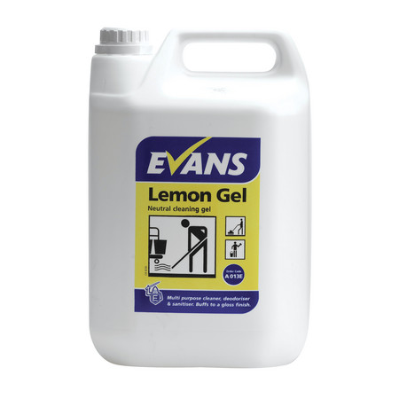 Evans Lemon Gel Floor Cleaner (5lt)