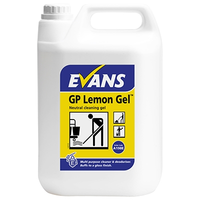 Evans GP Lemon Gel Floor Cleaner (5lt)