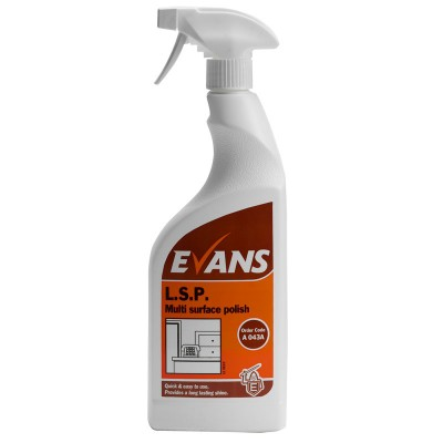 Evans LSP Spray Polish (6 x 750ml)