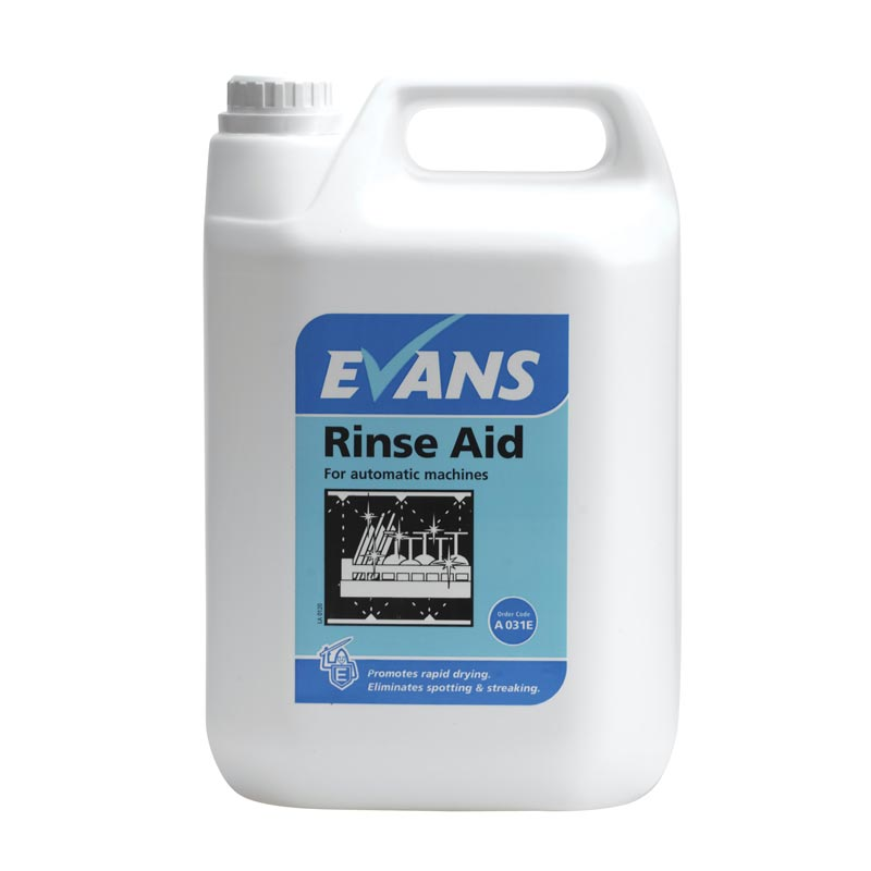 Evans Machine Rinse Aid Liquid (5lt)