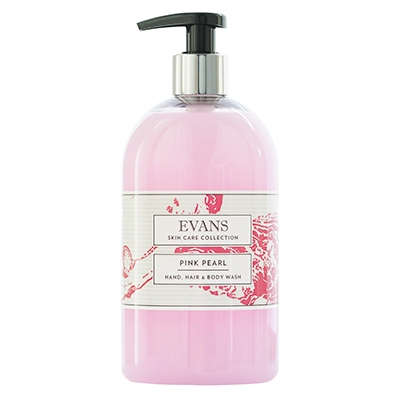 Evans Pink Pearl Soap Pump (6x500ml)