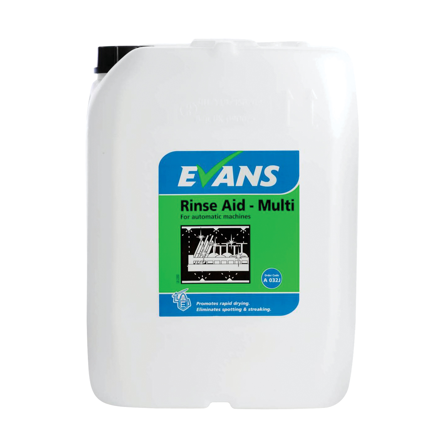 Evans Machine Rinse Aid Multi (20ltr)