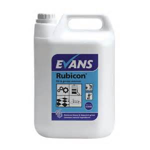 Evans Rubicon Oil & Grease Remover (5lt)