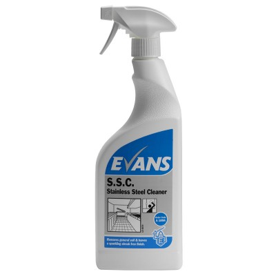 Evans Stainless Steel Cleaner (6x750ml)