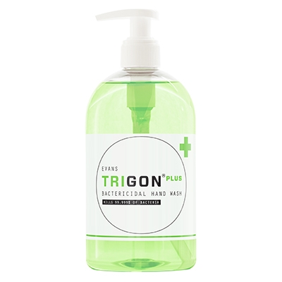 Evans Trigon+ Bacterial Hand Soap Pump (6 x 500ml)