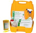 Body Fluid & Sharps Disposal Kit