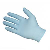 Glove Nitrile Blue (NBF3202) Powder Free (M)