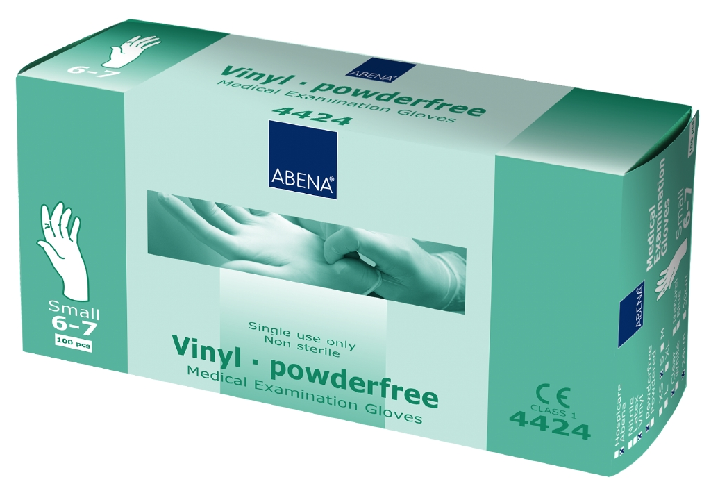 Glove Vinyl Powder Free (GD10) (S)