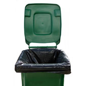 Black Heavy Duty Wheelie Bin Liner (HDWBL)