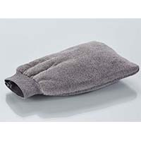 Microfibre Mitt Elasticated Cuff GREY