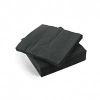 Napkin 33/2ply Black