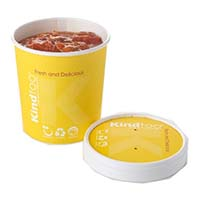 KindToo Compostable Combo 12oz (Base & Lid)