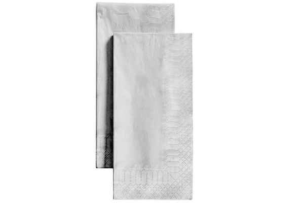 Napkin 40/2ply Readifold White