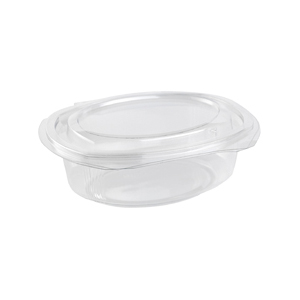 Salad Container 750ml Hinged 180x150x57