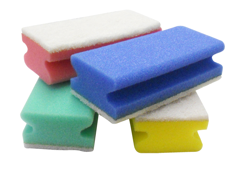 Scourer Yellow Sponge (non scratch) 5x3