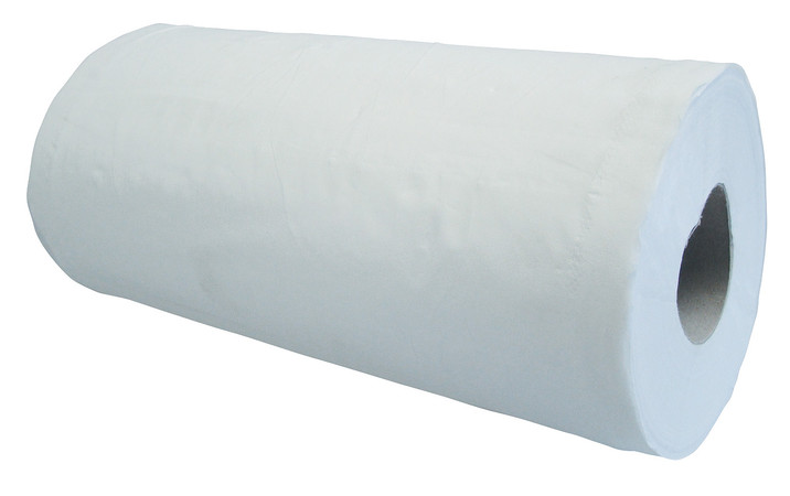 White Wiper Roll 10
