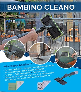 New Bambino Cleano - bucket free cleaning system