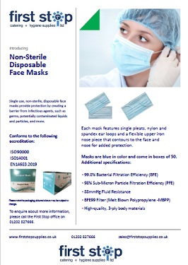Surgical, 3 ply Masks available. Packs of 50. POA